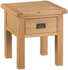Belle Oak Lamp Table