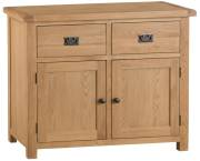 Belle Oak 2 Door 2 Drawer Sideboard