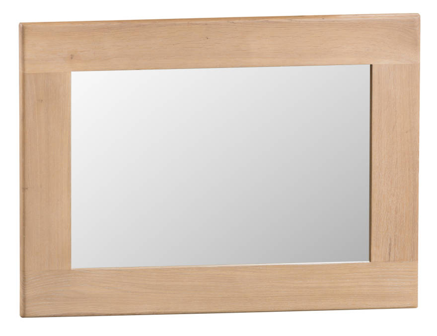 Oak Small Mirror