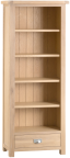 Belle Lime- Washed Oak Medium Bookcase