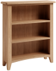 Rosie Oak Small Wide Bookcase