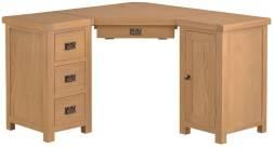 Belle Oak Corner Computer Desk
