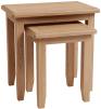 Rosie Oak Nest Of 2 Tables