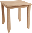 Rosie Oak Fixed Top Table
