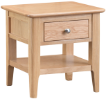 Freya Oak Lamp Table
