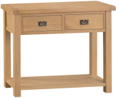 Belle Oak Medium Console Table