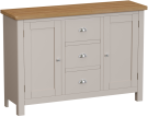 Isabella Painted Oak Large Sideboard