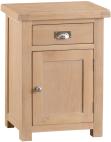 Belle Lime- Washed Oak Small Cupboard