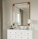 Large Rectangle Mirror Available With Gold Or Silver Frame (MIR01- LNR)