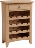 Rosie Oak Wine Cabinet