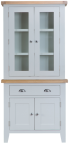 Pippa Painted Small Sideboard With Dresser Top- Grey