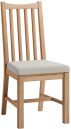 Rosie Oak Chair With Fabric Seat