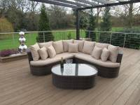 Adelaide Curved Sofa Set