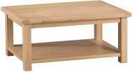 Belle Lime- Washed Oak Coffee Table