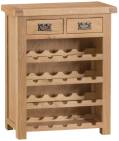 Belle Oak Wine Rack