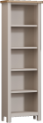 Isabella Painted Oak Large Bookcase