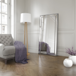 Large Rectangle Mirror Available In Silver Frame (MIR03- LNR)