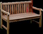 Solid Teak Classic Bench 130cm