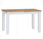 Rosie Painted Oak 1.6 Butterfly Extending Table- White