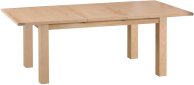 Belle Lime- Washed Oak 1.7 Butterfly Extending Table