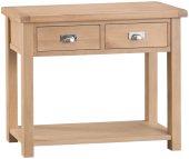 Belle Lime- Washed Oak Medium Console Table