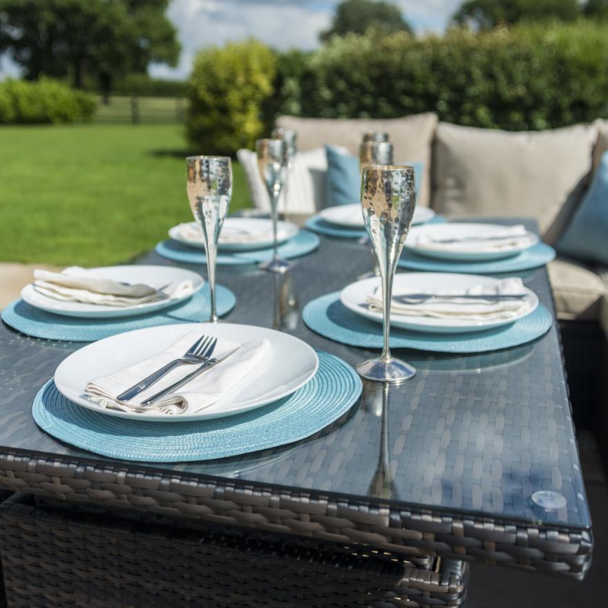 Kingston Corner Dining Set With Rising Table
