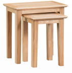 Freya Oak Nest Of 2 Tables