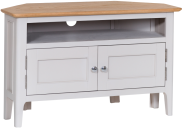 Freya Painted Oak Corner TV Unit