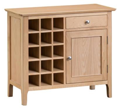 Blue Lagoon Furniture Wine Cabinets