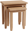 Rosie Oak Nest Of 2 Tables