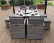 10 Piece Deluxe Cube Set- Grey