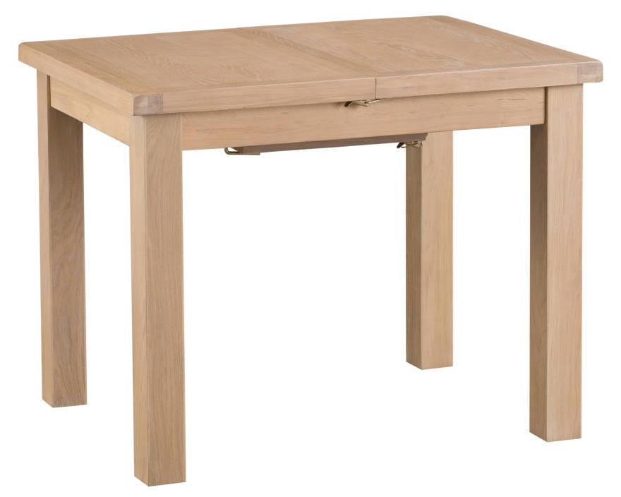 Oak 1m Butterfly Extending Table