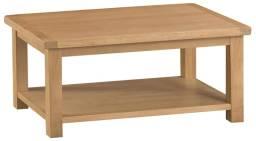 Belle Oak Coffee Table