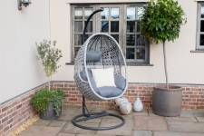 Ascot Grey Hanging Chair