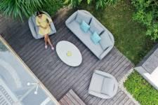 Ambition 3 Seat Sofa Set- Lead Chine