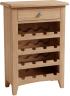 Rosie Oak Wine Cabinet