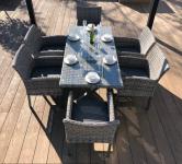 Paris 6 Seat Rectangle Dining Set