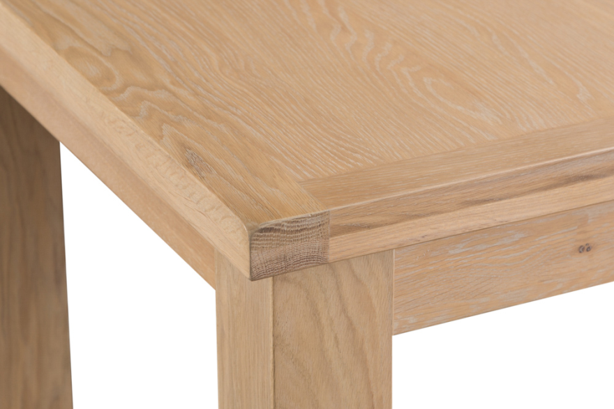 Belle Lime- Washed Oak 1.2 Butterfly Extending Table