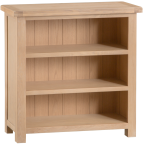 Belle Lime- Washed Oak Small Bookcase