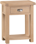 Belle Lime- Washed Oak Telephone Table