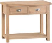 Oak Medium Console Table