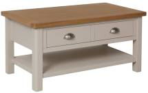 Isabella Painted Oak Large Coffee Table
