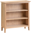 Freya Oak Small Wide Bookcase