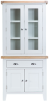 Pippa Painted Small Sideboard With Dresser Top- White