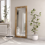 Large Rectangle Mirror Available In Gold, Silver Or White Frame (MIR02- LNR)
