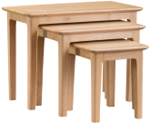 Freya Oak Nest Of 3 Tables