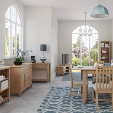 Blue Lagoon Furniture Rosie Oak Living & Dining