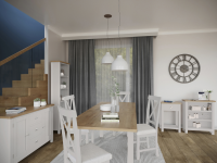 Isabella Painted Oak Living And Dining Collection