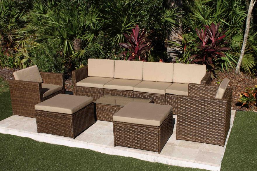 Savannah 9 Piece Modular Sofa Set