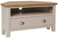 Isabella Painted Oak Corner TV Unit